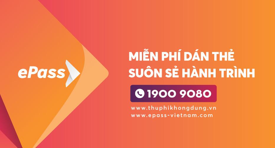 Viettel Epass hướng dẫn đăng ký miễn phí chíp thu phí không dừng