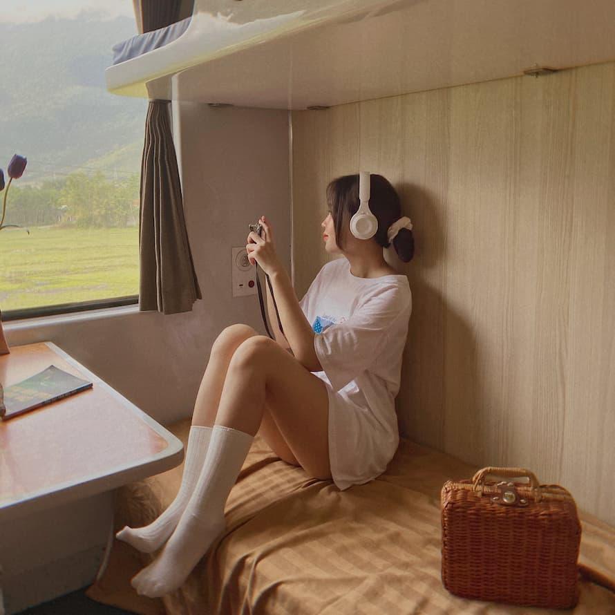 Trải nghiệm và sống ảo trên tàu hỏa Huế  – Đà nẵng